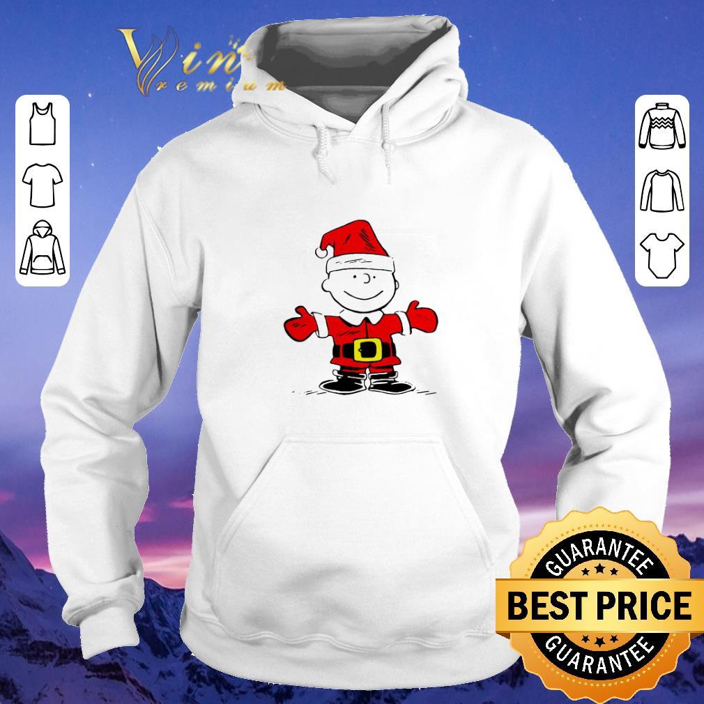 Premium Merry Christmas Santa Charlie Brown shirt 4 - Premium Merry Christmas Santa Charlie Brown shirt