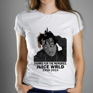 Premium Thanks For The Memories Juice Wrld RIP 1998-2019 shirt