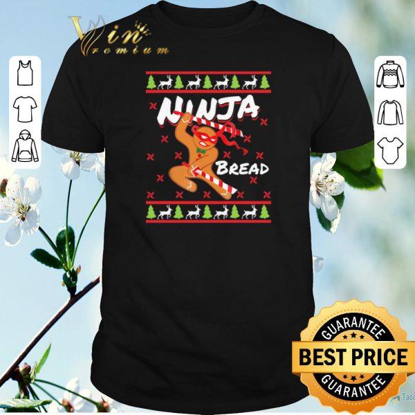 Premium Ugly Christmas Gift Gingerbread Ninja Bread shirt