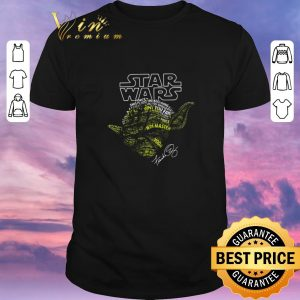 Premium Yoda Star Wars Force This Is Just The Beginning Signature shirt