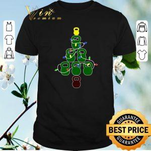 Pretty Kettlebell Christmas Tree fitness shirt sweater