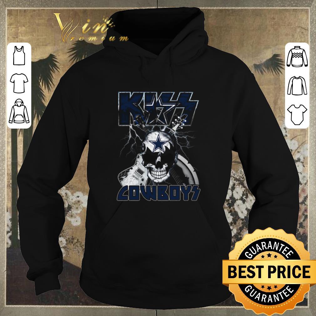 Pretty Kiss Cowboys Dallas Cowboys Guitar Skull shirt sweater 4 - Pretty Kiss Cowboys Dallas Cowboys Guitar Skull shirt sweater