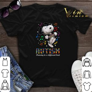 Snoopy Autism dancing to different beat shirt sweater