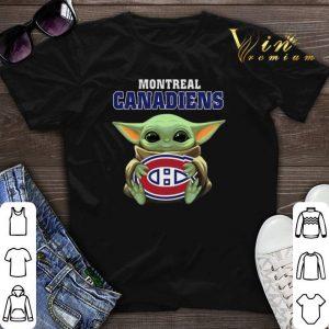 Star Wars Baby Groot hug Montreal Canadiens shirt