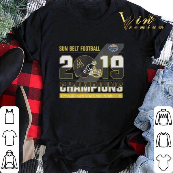 Sun Belt Football 2019 Champions Appalachian State Mountaineers shirt sweater
