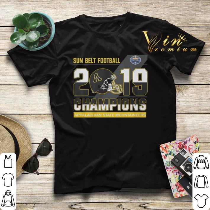 Sun Belt Football 2019 Champions Appalachian State Mountaineers shirt sweater 4 - Sun Belt Football 2019 Champions Appalachian State Mountaineers shirt sweater