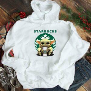 Top Baby Yoda Hug Starbucks shirt