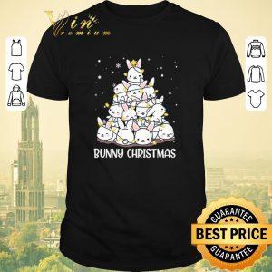 Top Christmas tree Bunny Rabbit shirt