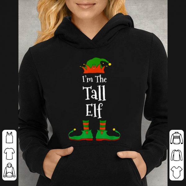 Top I'm The Tall Elf Family Matching Funny Christmas Group Gift sweater