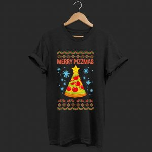 Top Merry Pizzmas Funny Christmas Pizza Gift Ugly Xmas sweater