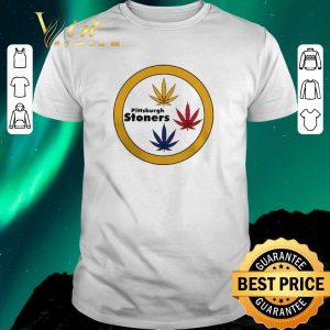 Top Pittsburgh Stoners Weed Pittsburgh Steelers shirt