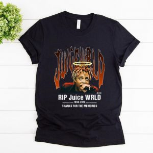 Top RIP Juice Wrld 1998-2019 Thanks For The Memories shirt