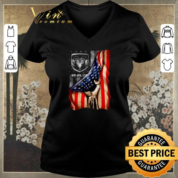 Top Ram Trucks American flag USA shirt sweater