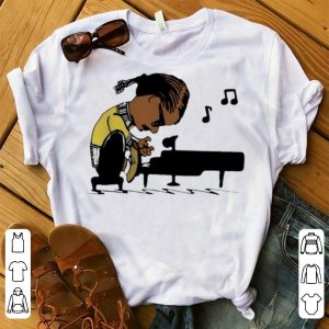Top Snoop Dogg Playing Piano Snoopy shirt