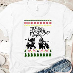 Top Ugly Christmas Creedence Clearwater Revival shirt