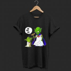 Top Your Father I Am Baby Yoda And Piccolo shirt