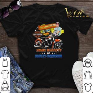 An American Legend Jimmy Buffett & Motor Harley-Davidson Cycles shirt sweater