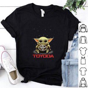 Baby Yoda hug Toyoda Toyota shirt