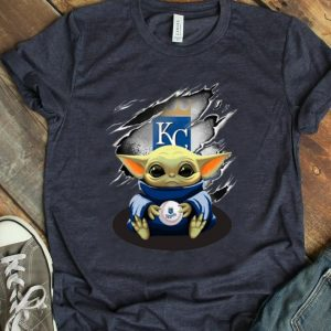 Great Star Wars Baby Yoda Blood Inside Kansas City Royals shirt