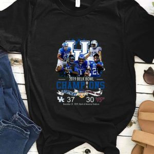Hot Kentucky 2019 belk bowl champions Kentucky vs Virginia Tech shirt