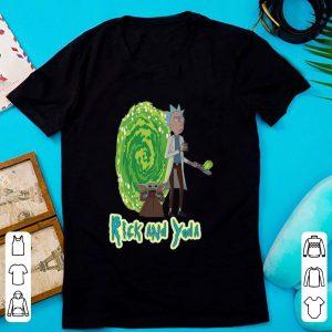 Hot Rick And Yoda shirt