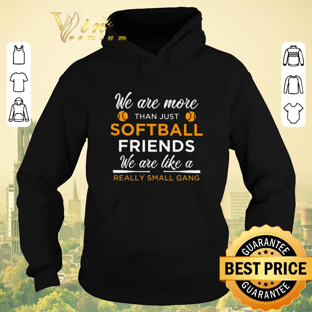 Hot We are more than just softball friends really small gang shirt sweater 4 - Hot We are more than just softball friends really small gang shirt sweater