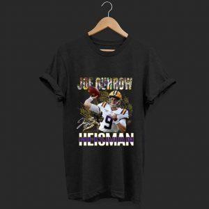 Nice Joe Burrow Heisman Signatures shirt