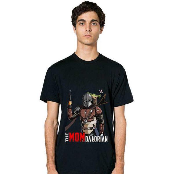 Nice Star Wars The Momdalorian shirt