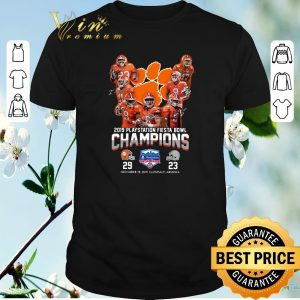 Official 2019 Playstation Fiesta Bowl Champions Clemson Tigers shirt sweater