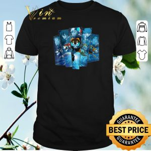 Official 5 Lions In Blue Voltron Legendary Defender shirt sweater