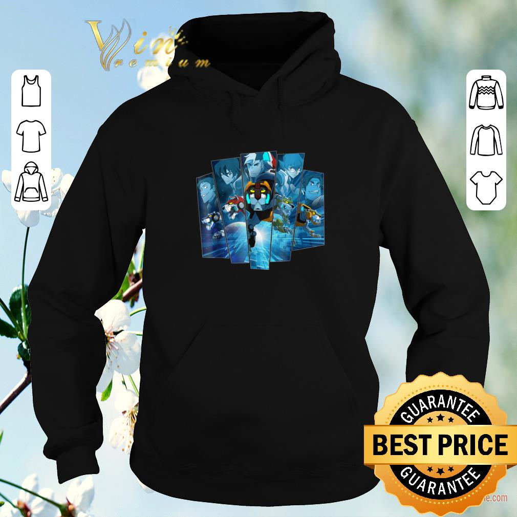 Official 5 Lions In Blue Voltron Legendary Defender shirt sweater 4 - Official 5 Lions In Blue Voltron Legendary Defender shirt sweater