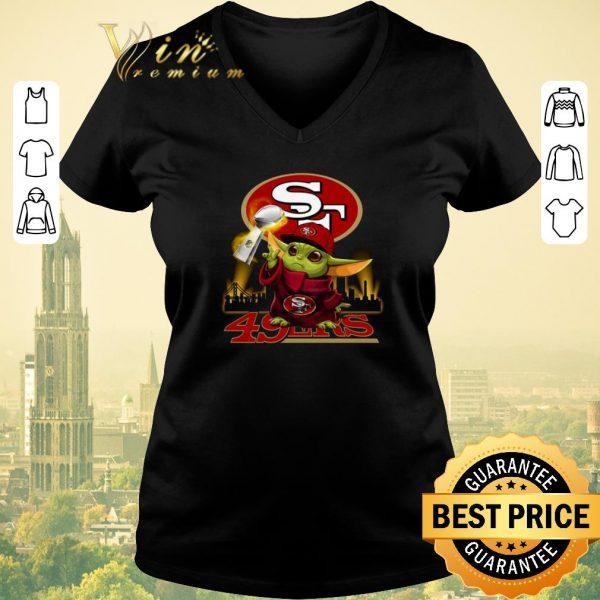 Official Baby Yoda Super Bowl LIV San Francisco 49ers Star Wars shirt sweater