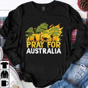Official Pray For Australia Australian Bush Fire Koala Kangaroo shirt