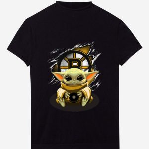 Original Star Wars Baby Yoda Blood Inside Boston Bruins shirt