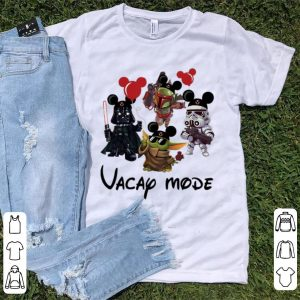 Original Vacay Mode Baby Yoda Darth Vader Boba Frick Stormtrooper shirt