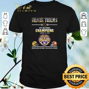 Premium Geaux Tigers 2020 CFP National Champions LSU Clemson Tigers shirt sweater