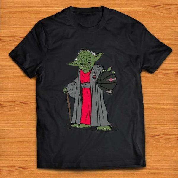Premium Master Yoda Basketball Houston Rockets shirt