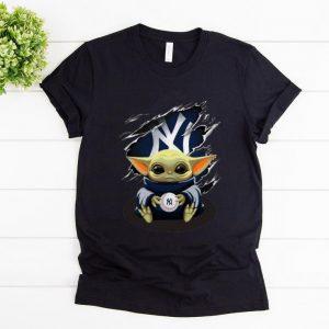 Premium Star Wars Baby Yoda Blood Inside New York Yankees shirt