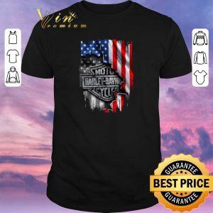 Pretty Harley-Davidson American Flag shirt sweater