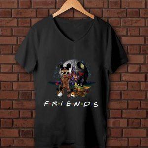 Pretty Star Wars Baby Yoda Baby Groot And Death Star Friends shirt