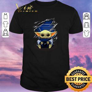 Pretty Star Wars Baby Yoda Blood Inside St. Louis Blues shirt sweater