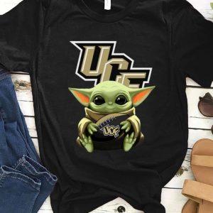 Pretty Star Wars Baby Yoda Hug NFL UCF Knights shirt