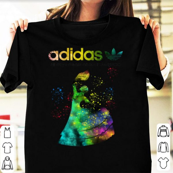 Pretty adidas all day i dream about Flamenco shirt