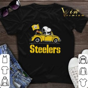Snoopy Driving Volkswagen Pittsburgh Steelers shirt sweater