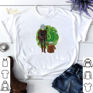 The Mandalorian and Baby Yoda Crossover Rick and Morty The Child shirt sweater