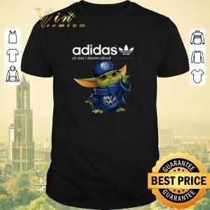 Top Baby Yoda adidas all day i dream about Volkswagen shirt sweater