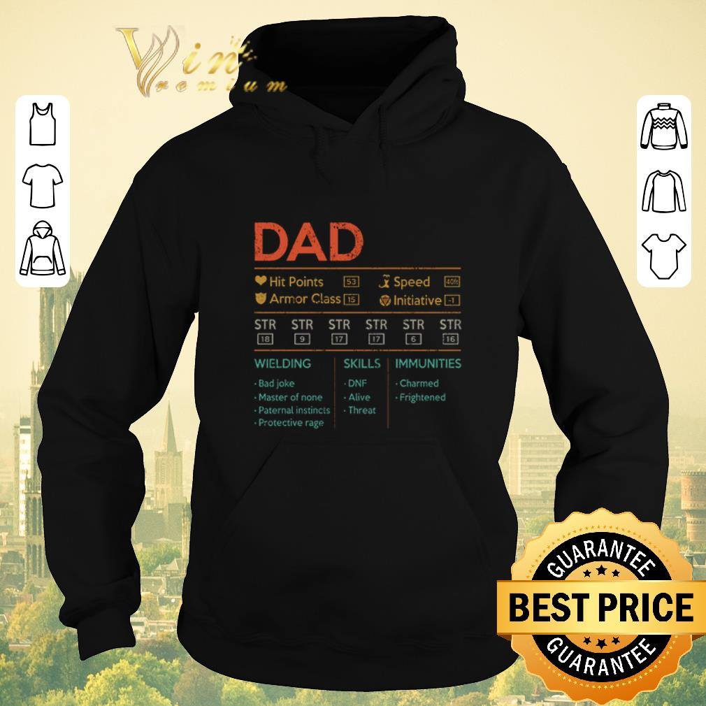 Top Dad hit points speed armor class initiative wielding vintage shirt sweater 4 - Top Dad hit points speed armor class initiative wielding vintage shirt sweater