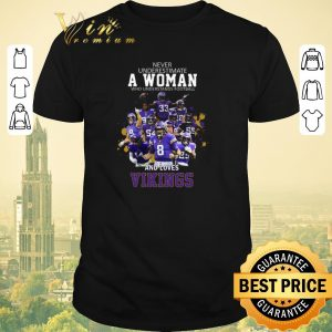 Top Never underestimate a woman who understands Minnesota Vikings shirt sweater