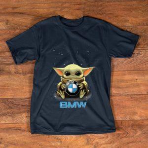 Top Star Wars Baby Yoda Hug BMW shirt
