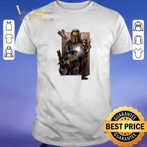 Top Star Wars The Mandalorian characters shirt sweater
